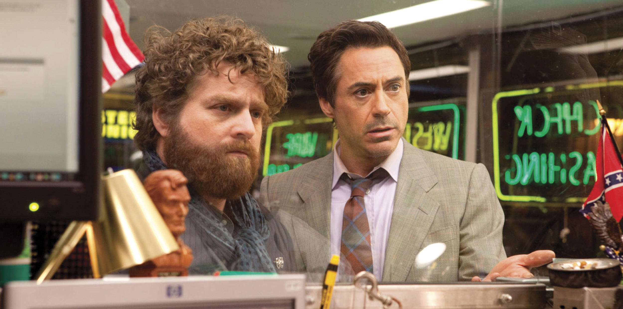 Galifianakis, Downey Jr.