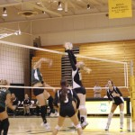 Inexperience shows as volleyball loses to Keuka College