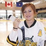 Women's hockey player Big Snake selected to help carry Olympic torch