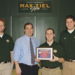 Lacrosse team recognized for community service