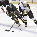 Early exit for men's hockey in tournament
