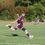 Garrand a leader for club soccer team