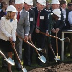Piez groundbreaking ceremony
