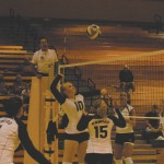 Oswego State overpowers Alfred in four-set match