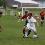 Men's soccer scores late goal to win 1-0 thriller against Raiders