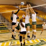Women's Volleyball falls in home opener