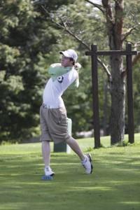 Freshman Kyle Brockmann