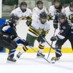 Women's hockey drops exhibition to Durham, 4-1