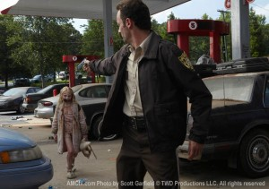 "Andrew Lincoln stars as former officer Rick Grimes in AMC's ""The Walking Dead"""