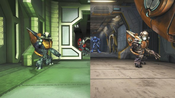 """Halo: Combat Evolved Anniversary"" graphics comparison"