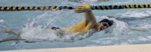 OSU swimming meet against Oneonta