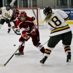 Women's hockey takes three points from Cortland