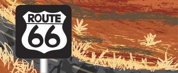 Route 66 graphic