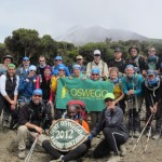 Successful climb inspires hikers' charitable gifts