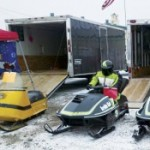 Snowmobilers head for Fulton