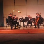 Quartet music impresses