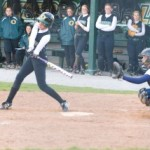 Softball loses doubleheader to Utica