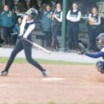 Softball loses doubleheader to Utica