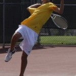 Men's tennis enjoys early success, faces tough teams