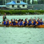 Local YMCA hosts Dragonboat races on the Lake