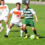 Men's soccer team ends season with glimpse of hope