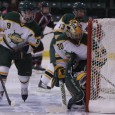 The Oswego State women's ice hockey team split its weekend series at home with SUNY Potsdam. The Lakers (2-3-1, 2-2 ECAC West) dominated on Friday night, putting together a 4-0...
