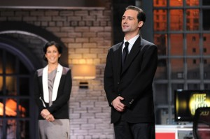 Michael Gewirtzman '05 Oswego State graduate applied for a job and was surprised to find it  included a reality tv opportunity. (Photo provided by CBS Broadcasting Inc.)