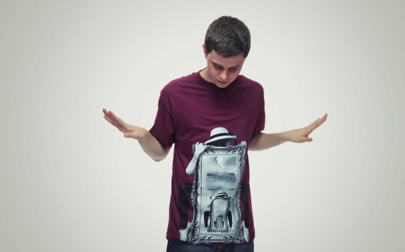 "The title of Watsky's freshman album, ""Cardboard Castles,"" refers to his childhood hobby of building cardboard castles and all the hard work he puts into his music. (Photo provided by suhreal.com)"
