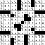 Crossword Solutions 4/5/2013