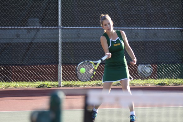 The Oswego State women's tennis team has only three matches in the spring season after a 3-12, 0-3 SUNYAC fall season between September and October. (Photo provided by Sports Information)