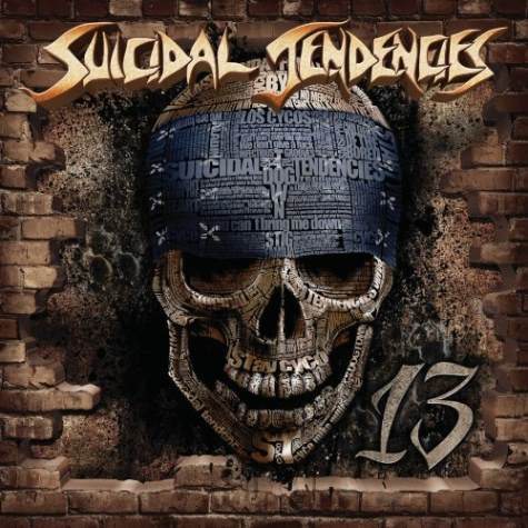 "The title of Suicidal Tendencies' latest album, ""13,"" refers to their years of hiatus. (Photo provided by blabbermouth.net)"