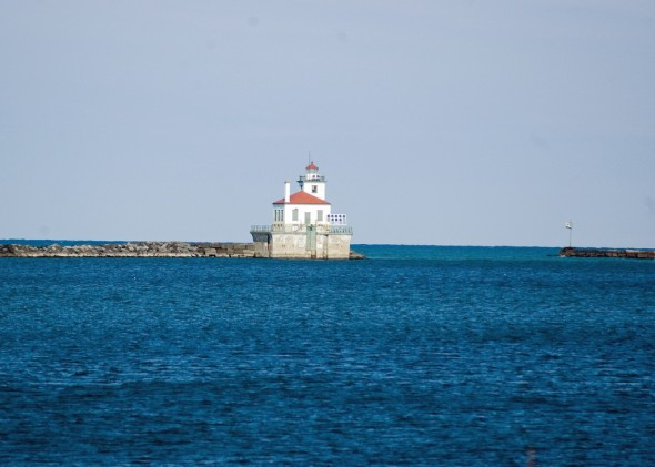The Oswego Lighthouse. Photo by Rich Collins through Flickr Creative Commons