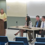 COM 211 hosts panel of students from business department