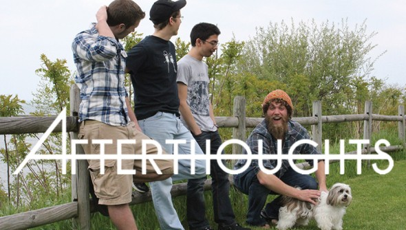 Student artitsts Afterthoughts' debut EP has a bit of everything for longtime punk rock fans and for fans new to the genre.  (Photo provided by Afterthoughts)