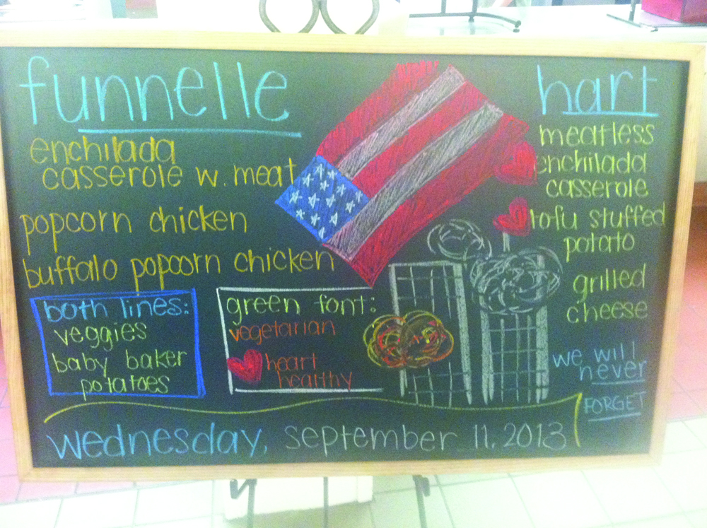 9 11 Memorial Image Draws Ire At Cooper Dining Hall The Oswegonian