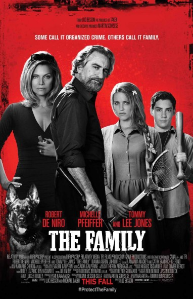 "Violence is the source of most of the humor in Robert De Niro's new film ""The Family.""  (Photo provided by impawards.com)"