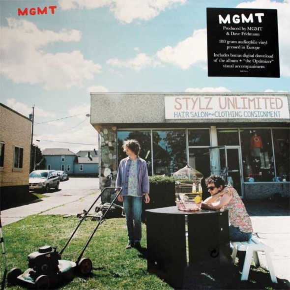 MGMT's self-titled album fails due to overproduction that becomes hard to listen to. (Photo provided by discogs.com)