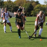 Field hockey falls to Cortland at home
