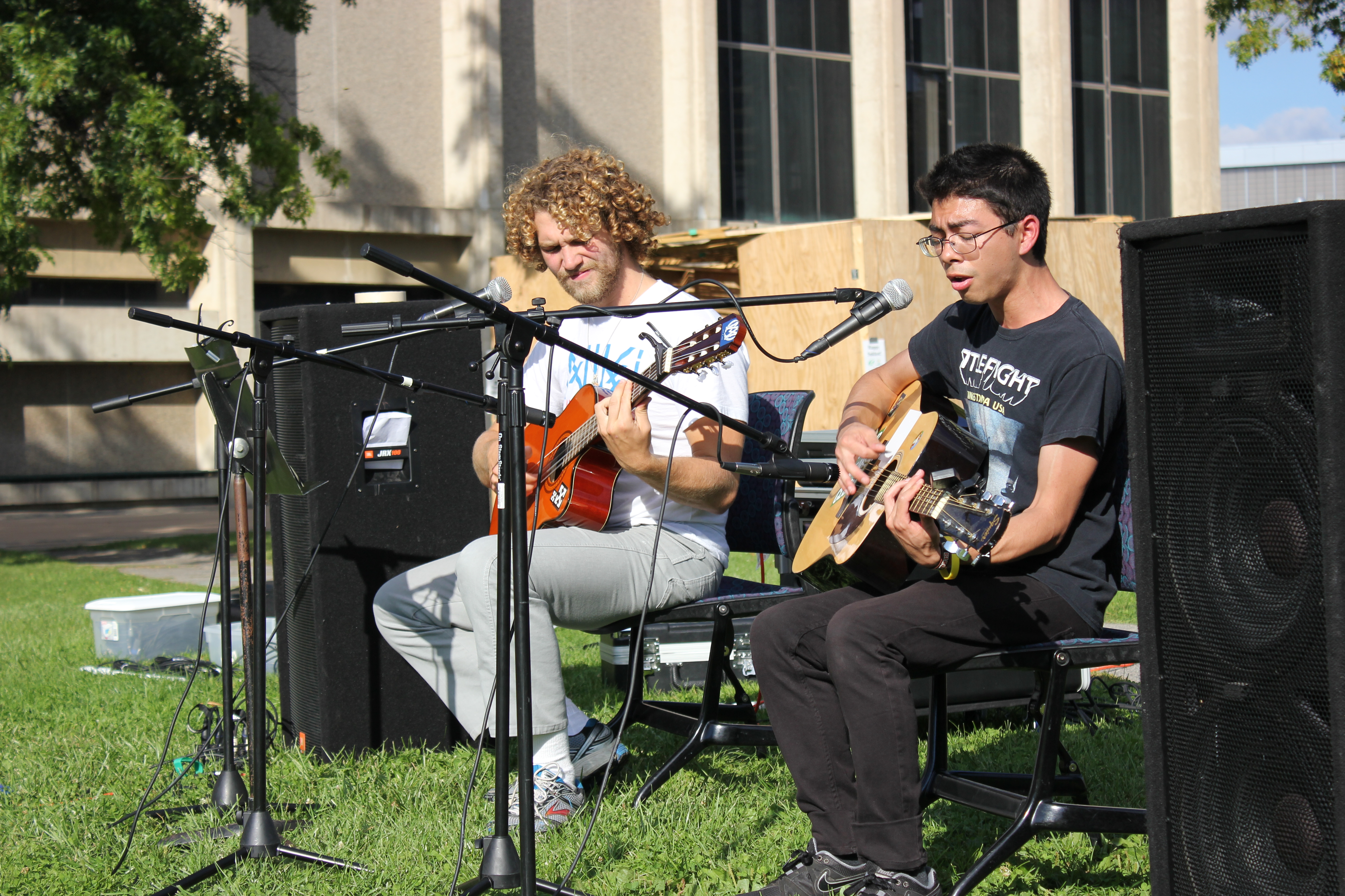 acoustics in the quad