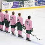 Lakers win 'Pink the Rink' match