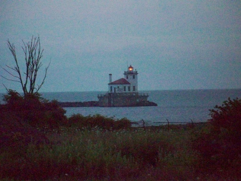 The Oswego Lighthouse. (Corey Seeman/ Flickr)