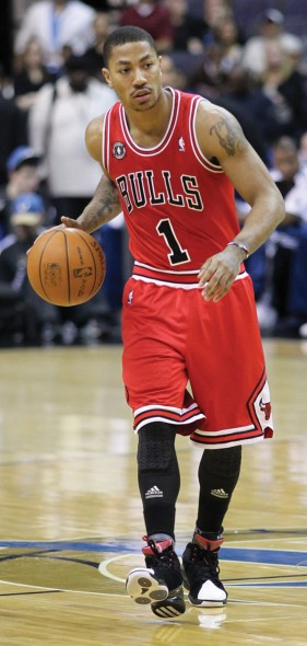 Derrick Rose hopes to bounce back from a knee injury that sidelined him for the entire season.  (Photo provided by Flickr)