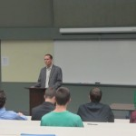 CEO, Alumnus speaks to students