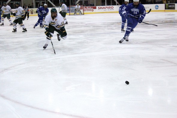 Oswego State looks to avenge their season opening loss tonight against SUNY Fredonia  (David Armelino | The Oswegonian)