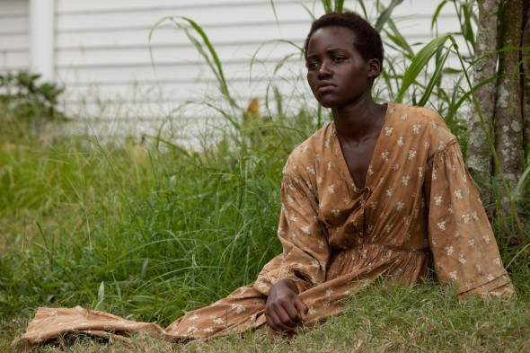 Newcomer Lupita Nyong'o  excellently portrays Patsey, an African slave and the object of obession for Michael Fassbender's character.  (Photo provided by entertainment.time.com)