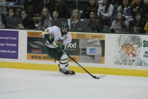 The Lakers are heading down the stretch in SUNYAC play and every game counts. Oswego State will look to senior captain David Titanic to lead them to two wins this weekend in Morrisville (David Armelino | The Oswegonian).
