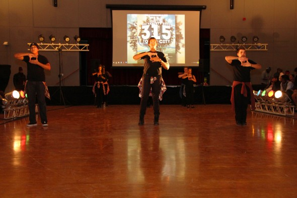 Among the performances  was the synchronized movements of Image Step Team.  (Photo provided by Tasigh  Greenidge-James)