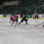 Oswego State wins first game of weekend