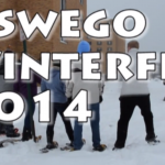 Students brave cold for winter festival