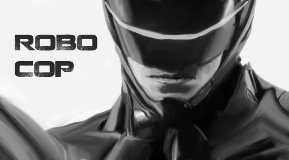 "Joel Kinnaman stars in the reboot of 80's cop thriller ""Robocop"".  (Devon Nitz 